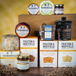 'Piccadilly' Luxury Cheese Hamper by Paxton & Whitfield
