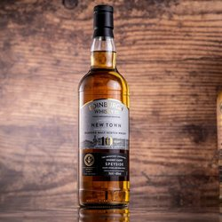 Edinburgh Whisky Limited Edition New Town Blended Malt Scotch Whisky - Inventors' Inspiration Sherry Casks Speyside 70cl 46.0% ABV