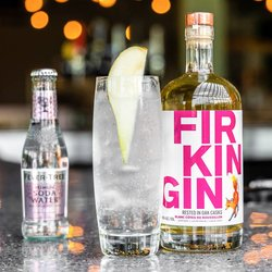 Firkin Gin Rested in Oak Casks (Blanc Cotes Du Roussillon) - Small Batch Gin 70cl 46% ABV