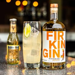 Firkin American Oak Gin - Rested in Oak Casks - 70cl 46% ABV