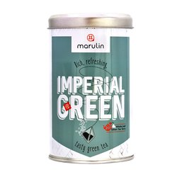 20 'Imperial Green Tea' Bi Luo Chun Green Tea in Tea Caddy