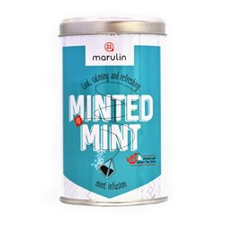 20 'Minted Mint' Peppermint Infusion in Tea Caddy