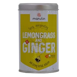 20 'Lemongrass & Ginger' Infusion in Tea Caddy