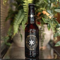 24 x Freedom Pale Ale Bottles 330ml 4.2% ABV - Freedom Brewery