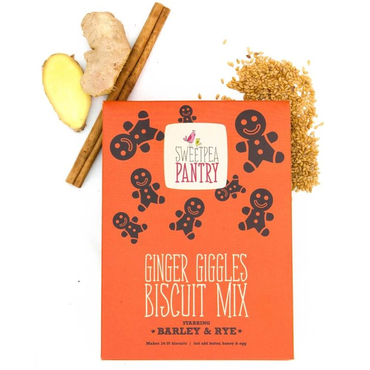 Gingerbread Giggles Biscuit Mix - Easy Bake at Home Recipe 360g