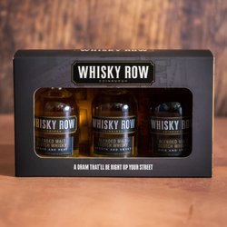 Whisky Row Gift Set - Blended Whisky Miniatures Gift Set