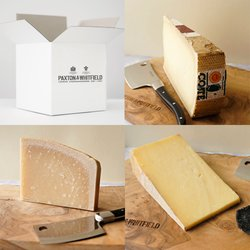 Paxton & Whitfield 'Cookers & Keepers' Cheese Selection with Cave Aged Cheddar, Grana Padano & Comté Jeune