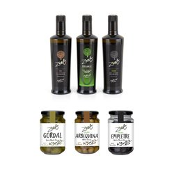 ZEET Olive Oils & Olives Selection