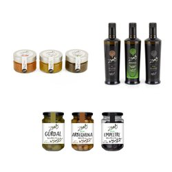 ZEET Olive Oils, Olives & Olive Oil Pearls Selection