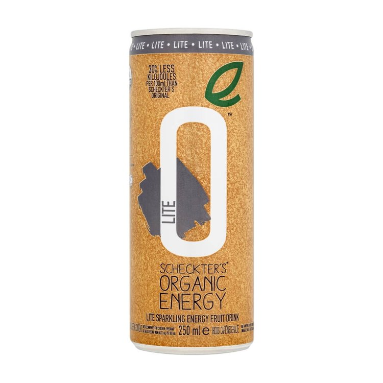 Organic Lite Energy Drink 12 x 250ml
