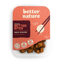 4 x 'Saucy Stir-Fry' Asian-style Tempeh Bites by Better Nature 175g