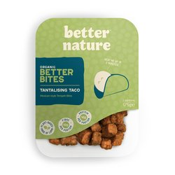 4 x 'Tantalising Taco' Mexican-style Tempeh Bites by Better Nature 175g