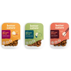 Better Nature Tempeh Bites Selection Pack (3 Varieties) 6 x 175g