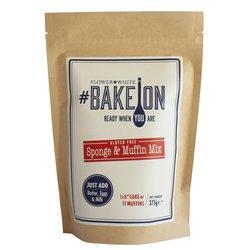 Gluten-free Cake Mix 375g - #BakeOn Gluten-free Sponge & Muffin Mix by Flower & White