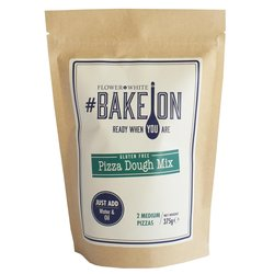 Gluten-free Pizza Dough Mix 375g - #BakeOn by Flower & White