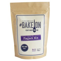 Gluten-free Flapjack Mix 375g - #BakeOn by Flower & White