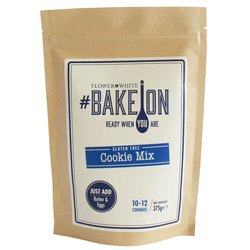 Gluten-free Cookie Mix 375g - #BakeOn by Flower & White