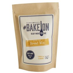 Gluten-free Bread Mix 375g - #BakeOn by Flower & White