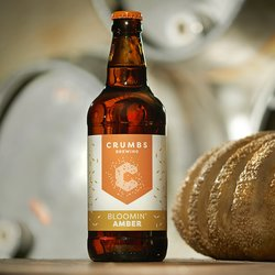 12 x Bloomin' Amber Ale 500ml 4.8% ABV - Craft Bread Beer by Crumbs Brewing