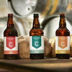 Crumbs Brewing Mixed Case - 3 Varieties (12 x 500ml bottles) - Craft Bread Beer by Crumbs Brewing