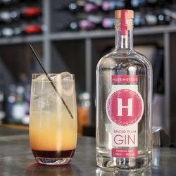 Hussingtree Spiced Plum Gin 70cl 40% ABV - Premium Dry Gin