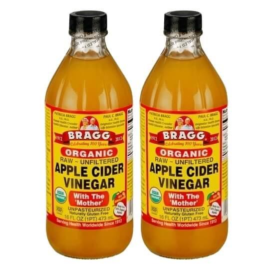 Bragg Organic Apple Cider Vinegar 2 x 473ml (With The 'Mother')