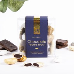 'Chocolate Pebble Beach' Luxury Dark Chocolate Pebbles by Sweet Lounge 125g