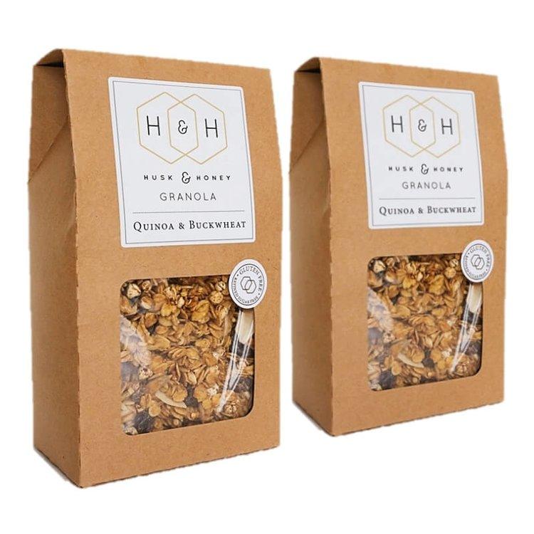 Quinoa & Buckwheat Granola 2 x 450g Twin Pack (Gluten Free)