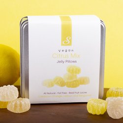 'Citrus Mix' Vegan Jelly Sweets by Sweet Lounge 200g Tin