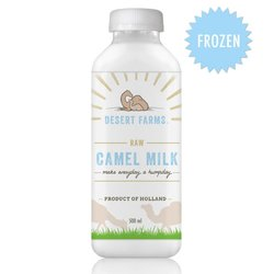 Frozen Raw Camel Milk 500ml