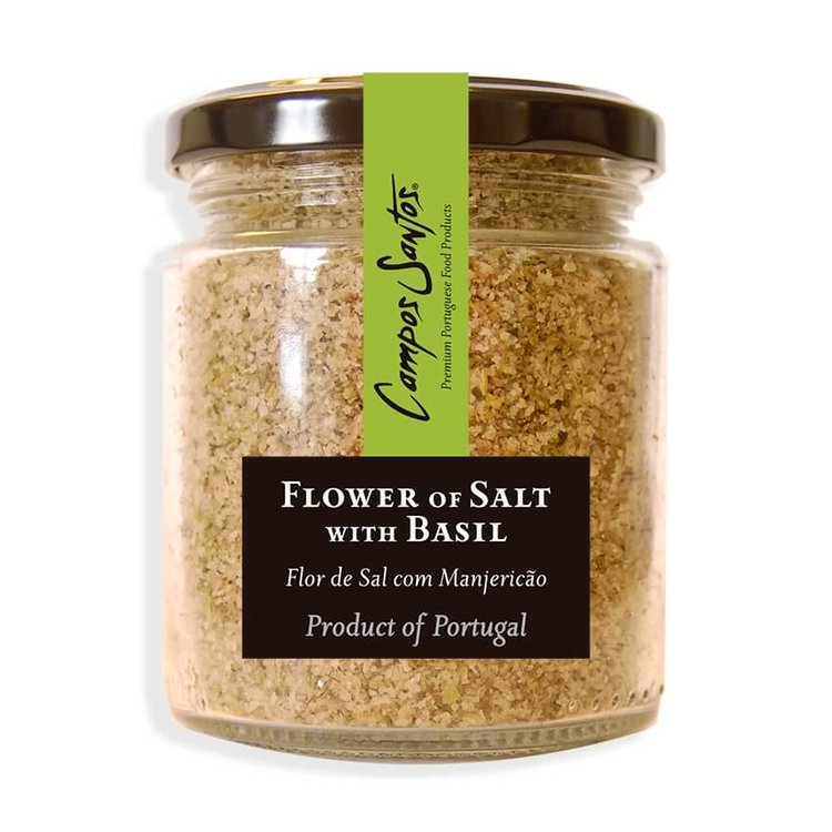 Flower of Salt with Basil 150g