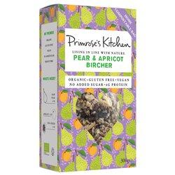 6 x Pear & Apricot Bircher by Primrose's Kitchen 300g - Organic, Vegan, Gluten-free Bircher Muesli