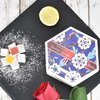Rose & Lemon Turkish Delight by Truede in Handmade Wooden Gift Box 250g - Turkish Delight Gift Box
