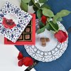 Rose Flavoured Chocolate Covered Turkish Delight by Truede 120g