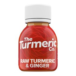 12 x Raw Turmeric & Ginger Shots by The Turmeric Co. 60ml