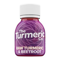 12 x Raw Turmeric & Beetroot Shots by The Turmeric Co. 60ml