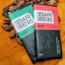 Barbers Bean to Bar Dark Chocolate Duo (2 x 45g Bars)