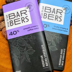 Barbers Bean to Bar Milk Chocolate Duo (2 x 45g Bars)