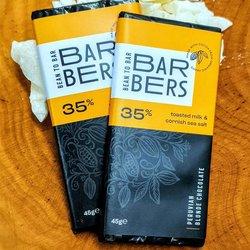 2 x Barbers Bean to Bar Blonde Chocolate 45g