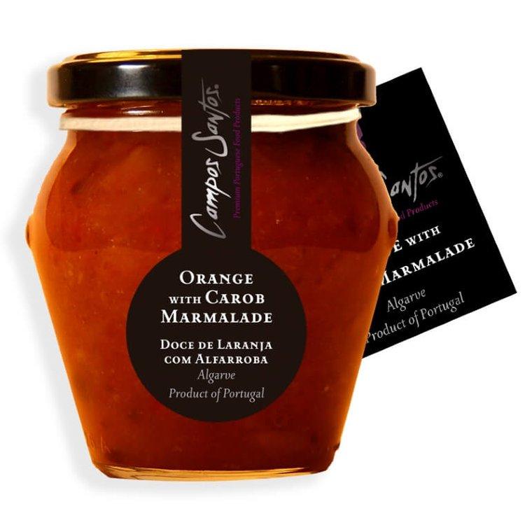 Carob and Orange Marmalade 235g