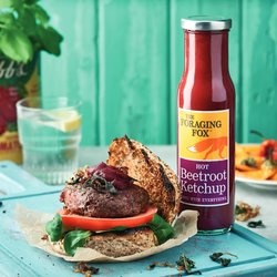 6 x The Foraging Fox Hot Beetroot Ketchup 255g