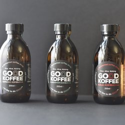 GOOD KOFFEE Kombucha Fermented Coffee Drink Trio (3 x 200ml)