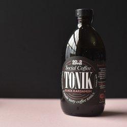 'Social Coffee Tonik' Black Cardamom Coffee Tonic 500ml