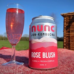12 x 'Rose Blush' Jun Kombucha 330ml