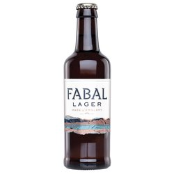 12 x Fabal English Lager 330ml 4% ABV