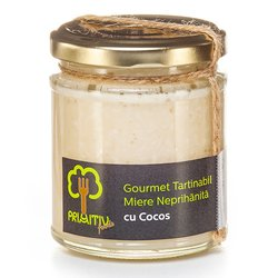 Creamed Raw Honey with Coconut 230g