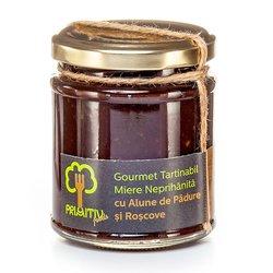 Creamed Raw Honey with Hazelnut & Carob 240g