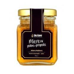 Raw Wild Flower Honey with Pollen & Propolis 130g