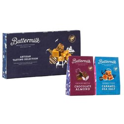 Cornish Fudge & Chocolate Nut Brittle Gift Pack by Buttermilk 550g