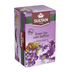 Green Tea with Saffron - 20 Tea Bags
